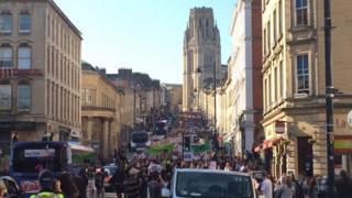 Anti-austerity march