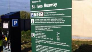 St Ives park and ride
