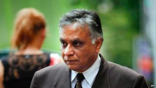 A picture taken in 2011 shows an Indian-born surgeon Jayant Patel walking out of court in Brisbane.