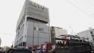 Police raid Axact's offices in Karachi