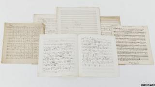 Sir Hubert Parry manuscripts
