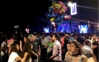 Concert in Duman, Izmir