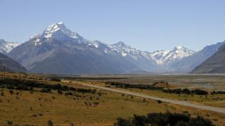 Mount Cook, file pic