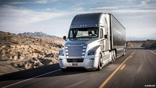 Daimler's self-driving trucks are already being tested in Nevada