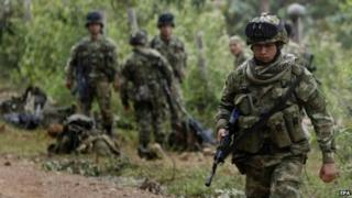 Colombian soldiers (file image)