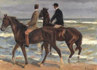 Two Riders on a Beach (1901)