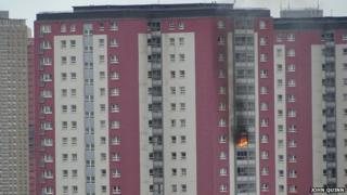 Charles Street flats fire