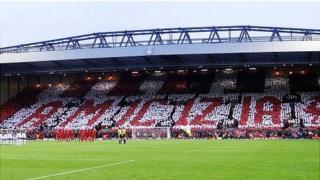 Liverpool fans show of friendship towards Juventus