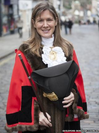 Guildford's current mayor, Councillor Nikki Nelson-Smith
