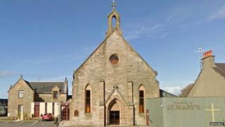 St Mary's Church in Saltcoats