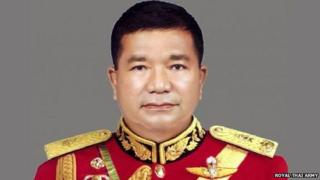 Lt Gen Manas Kongpan (file photo)