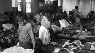 Crianças em 1950