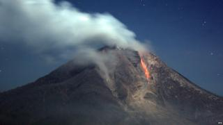 Increased activity on Mount Sinabung