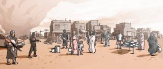 Illustration of Mosul