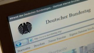 German parliamentary network