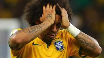 الظهير الأيسر لمنتخب البرازيل مارسيلو
