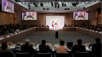 مؤتمر باريس 4 لدعم لبنان