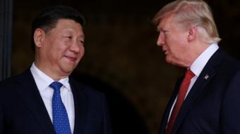 الرئيسان الأمريكي والصين