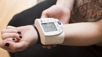 قياص ضغط الدم