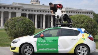 سيارة غوغل لتصوير الشوارع