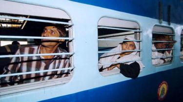 Train in Haryana (file picture)