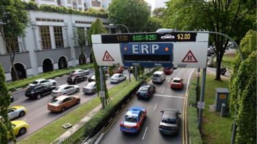 Traffic in Singapore