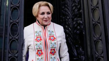 Romania's prime minister designate Viorica Dancila in Bucharest, Romania, January 16, 2018