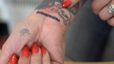'Sobermama' tattoo