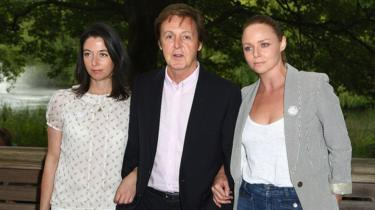 Mary McCartney, Paul McCartney and Stella McCartney