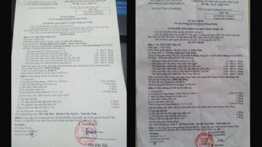 Quyết định về lương hưu của hai cô giáo Trương Thị Lan và Nguyễn Thị Vỹ