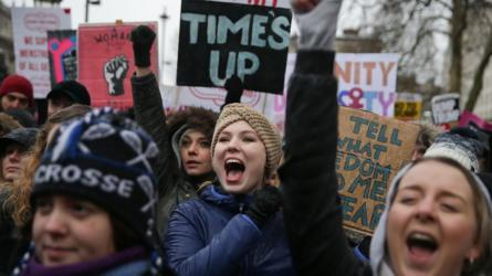 احتجاجات على التحرش الجنسي