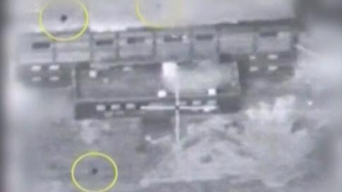 حمله به تاسیسات سوریه