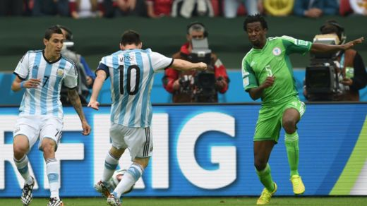 Messi vs Nigeria