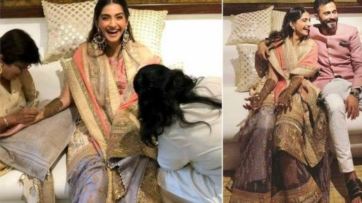 Hoton sakun lallen Sonam Kapoor