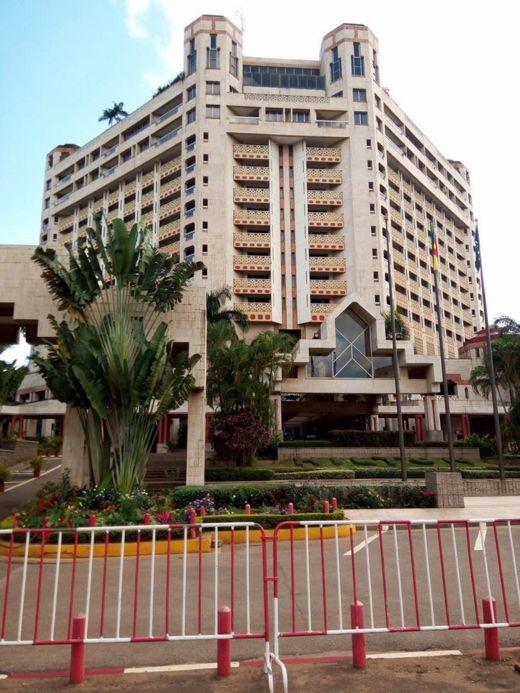Otel din da 'yan wasan Super Eagles suka sauka a birnin Yaounde
