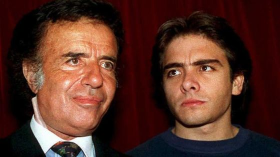 Remains of Menem Jr exhumed amid murder claims in Argentina