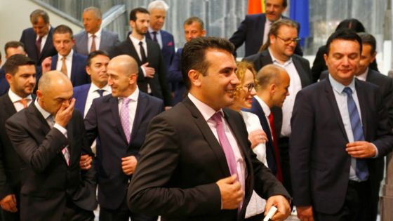 Macedonian MPs vote in new government after deadlock