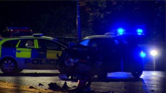 Teenager dies after east Belfast crash
