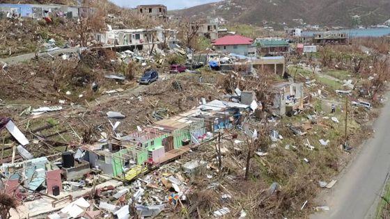 Hurricane Irma wreaks havoc in British Virgin Islands