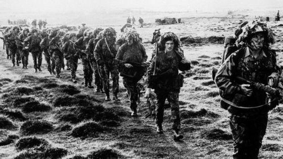 Falklands War 35th anniversary event at Cardiff Senedd