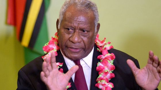 Vanuatu president Baldwin Lonsdale dies after heart attack