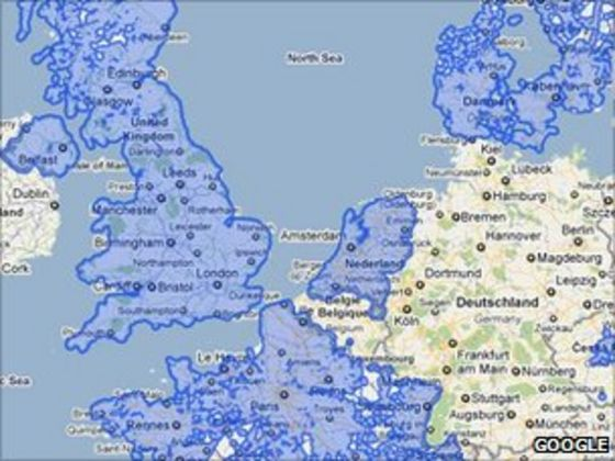 Street View Prompts Privacy Code In Germany BBC News - Germany map view