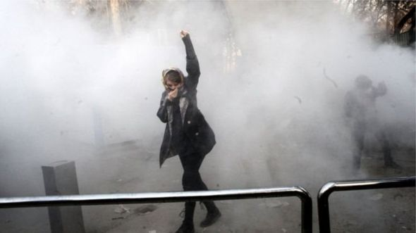 Iran demonstrations enter third day