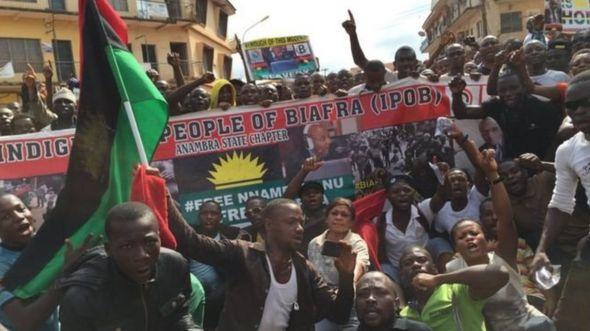 Masu fafutukar kafa Biafra