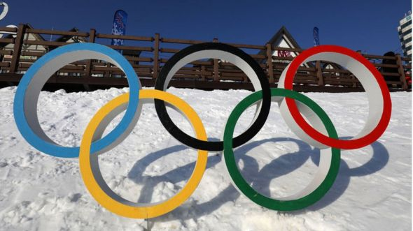 winter olympic rings