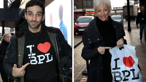 Davood Ghadami and Debbie McGee in Blackpool
