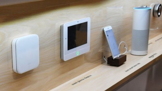 Smart gadgets connected to the internet