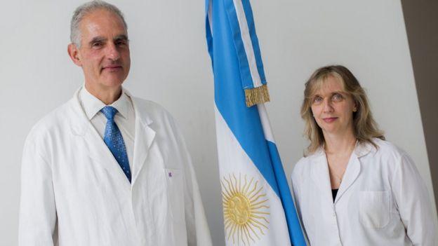 Carlos Della Védova y Rosana Romano