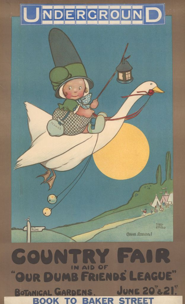 Mabel Lucie Attwell poster
