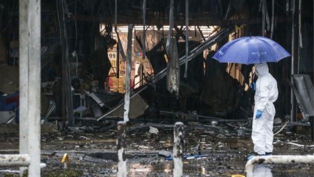 ระเบิดหน้าห้างบิ๊กซี ปัตตานี เมื่อวันที่ 9 พ.ค.